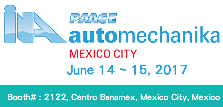 Invitation of PAACE Automechanika Mexico 2017